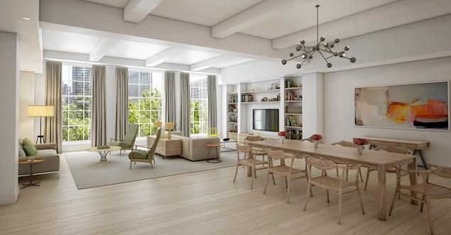 Chelsea Clinton and her husband, Marc Mezvinsky, are in contract to buy a $10.5 million apartment in The Whitman, at 21 East 26th St.