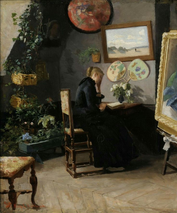 Studio Interior - Kitty Kielland