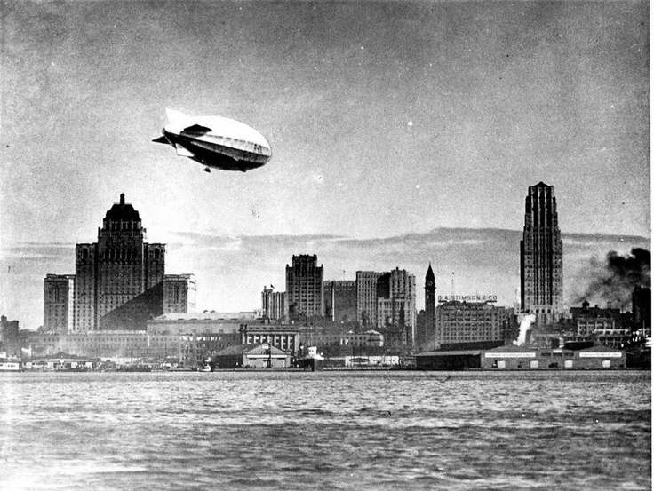 Airship over TO 1930