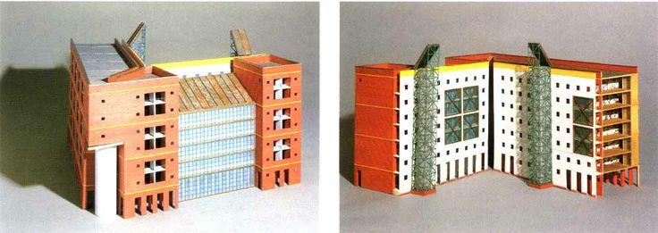 Aldo Rossi | Edificio de viviendas Friedrichstadt | Berlín; Alemania | 1981-88