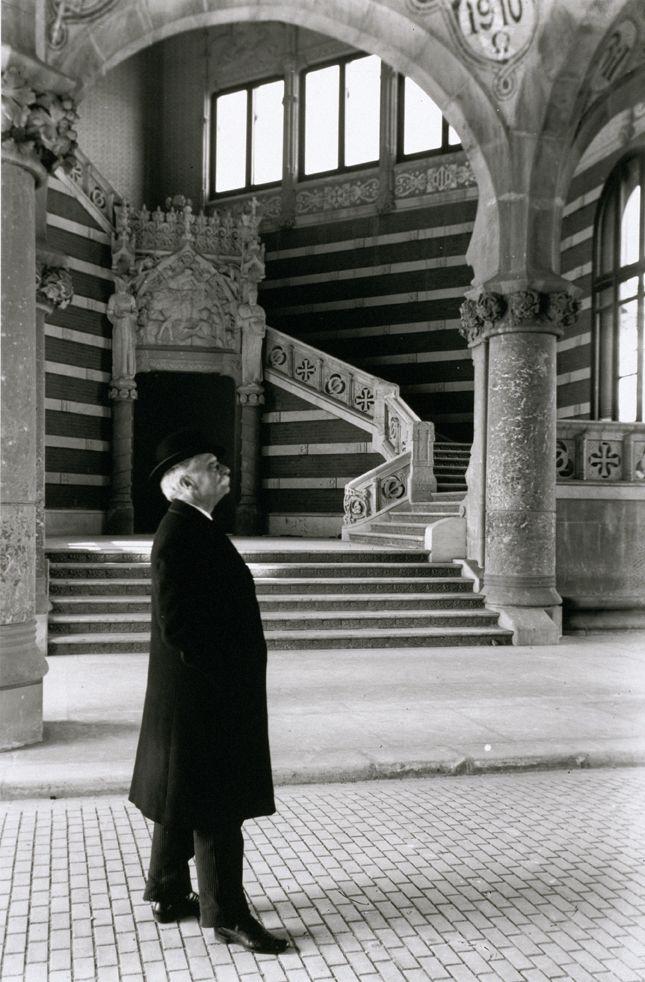 The architect Lluis Domenech i Muntaner (Modernism)