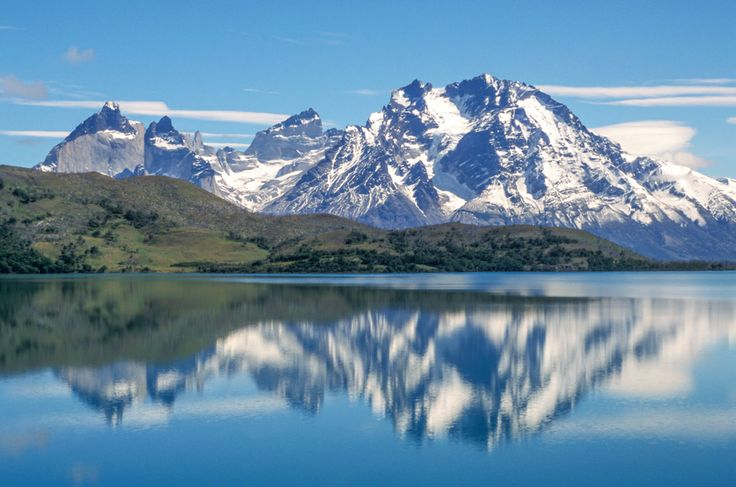 Torres del Paine National Park, Chile Torres del Paine Massif reflections in Lake Sarmiento. © Roberto Soncin Gerometta 2003