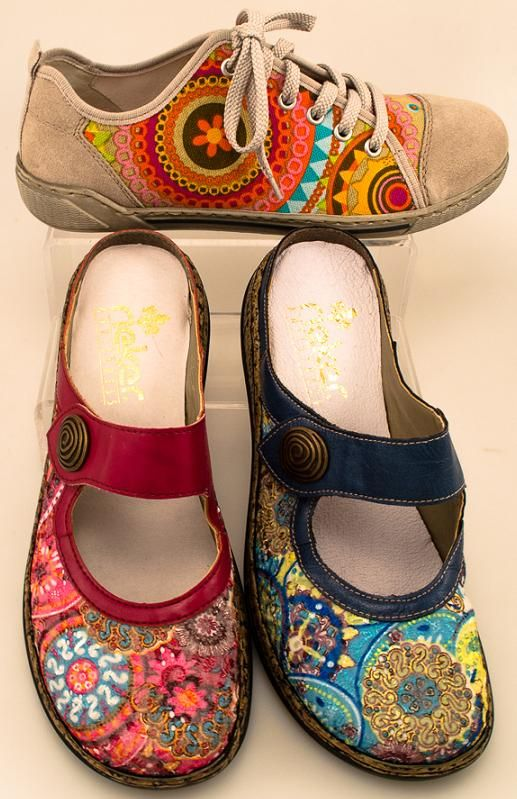 These are the perfect shoes for me!  Someone in their design dept is reading my mind.  Rieker Shoes 2013_6