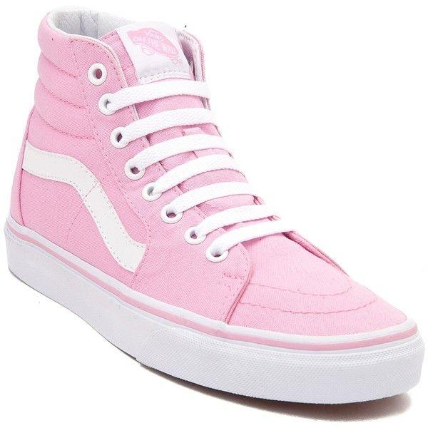baby rosa vans sk8 hi