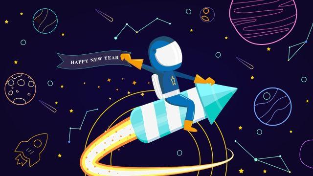 رائد فضاء الكون كوكب الفضاء السماء المليئة بالنجوم رسمت باليد كرتون صورة توضيحية على Pngtree غير محفوظة الحقوق Abstract Iphone Wallpaper New Year Illustration Abstract Wallpaper