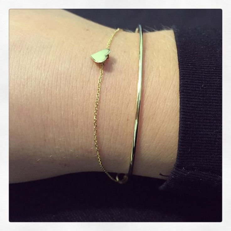 Gold minimal bracelets - Lorentz&Co.  www.lorentzandco.com