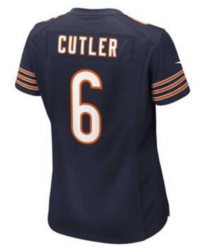 Nike Women's Jay Cutler Chicago Bears Game Jersey  - Blue M
