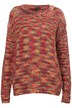 Knitted Tweedy Yarn Jumper
