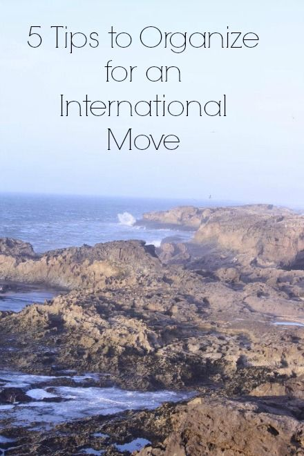 5 Tips to Organize for an International Move