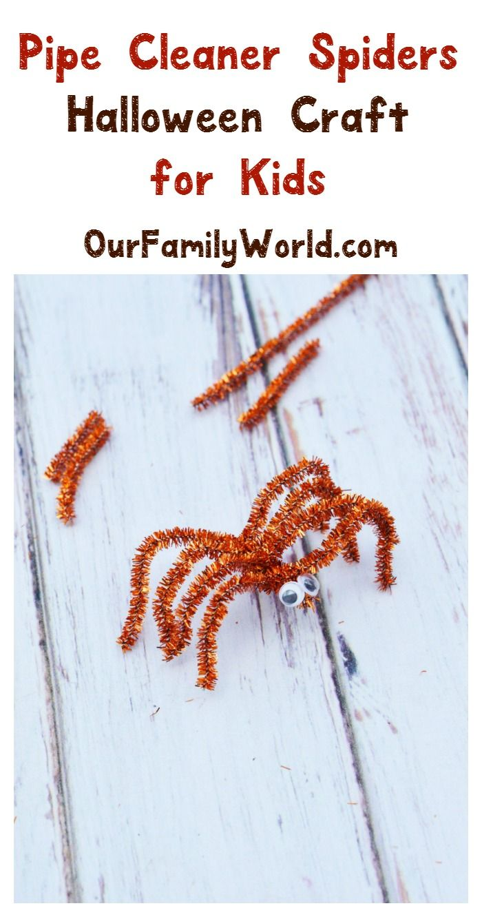 336 best pipe cleaner crafts for kids to make images on for Easy halloween crafts to make and sell