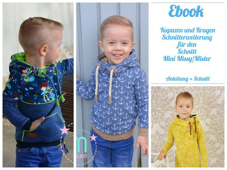 Nähanleitungen Kind - Ebook Schnitterweiterung für Mini Missy/Mister - ein Designerstück von Kristina1907 bei DaWanda