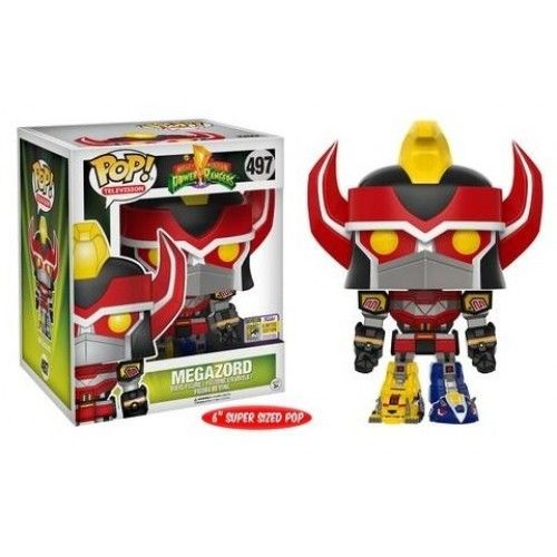 Funko Megazord, Mighy Morphin Power Rangers, SDCC 2017 Exclusive, Funkomania