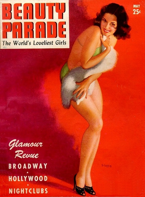 "Beauty Parade - 1943 05 - Earl Moran ""Steffa"" Cover Art by kocojim, via Flickr"