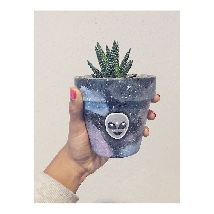 Excited to share the latest addition to my #etsy shop: Alien Emoji Indoor Succluent and Planter | Home and Dorm Decor Cute Gift