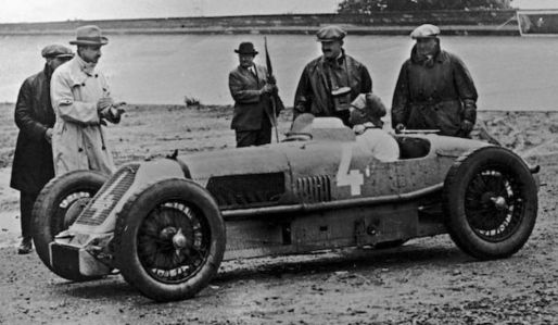 The Talbot Darracq was a very advanced 1.5 litre straight eight supercharged  Grand Prix car. The engine and propshaft were offset to allow the driver to sit lower in the car.  Only one car now remains.