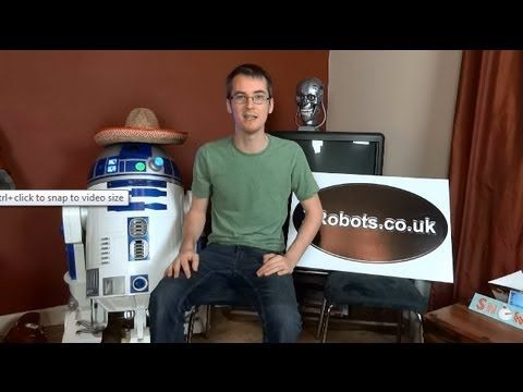 XRobots VBlog #2 - Unfinished Props including my R2-D2, Alien Suit, and my plans for Terminator