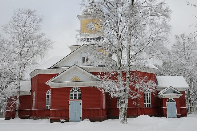 Ullavan kirkko, Finland