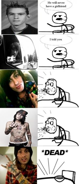 Mike Fuentes killed Cereal Guy. how could you kill ceral guy mike why dud you do it!