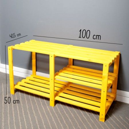 Rack de TV Amarelo! - Tadah! Design