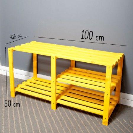 Rack de TV Amarelo! - Tadah! Design