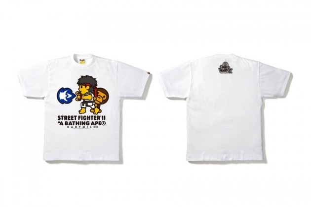 Bape x Street Fighter II 25th Anniversary T-Shirt Collection