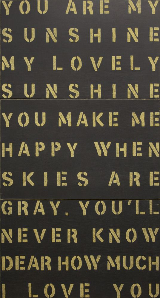 Sugarboo Designs You Are My Sunshine Antiqued Sign