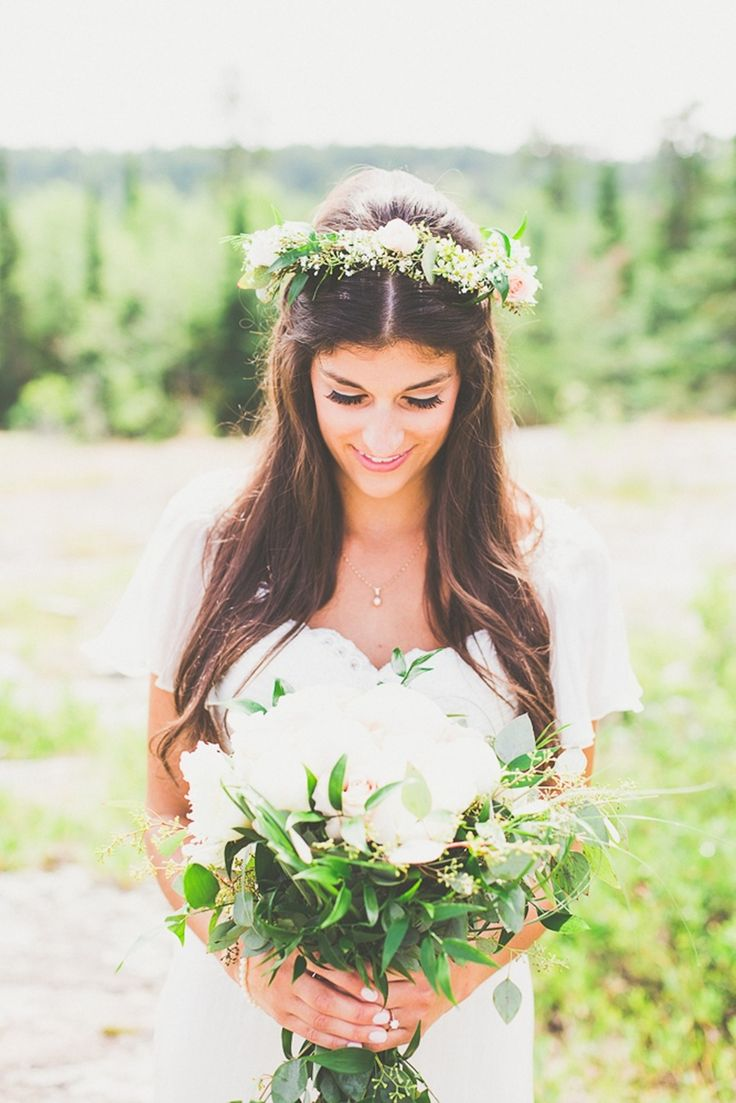 A perfect boho themed wedding