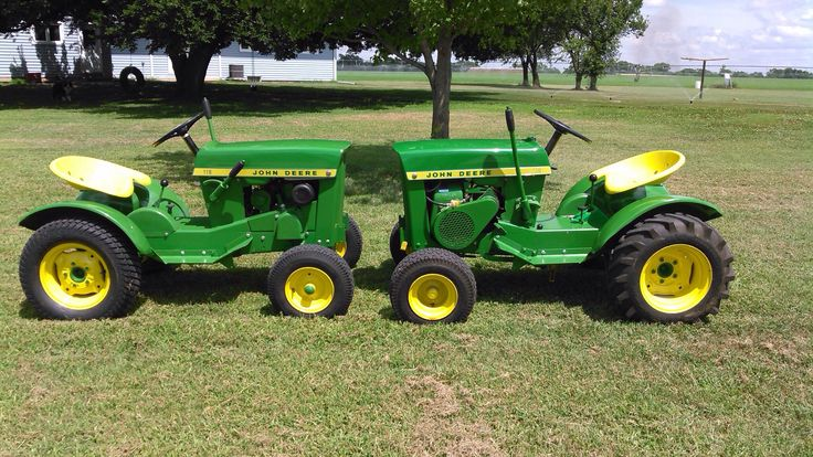 John Deere 170 P : Best images about john deere garden tractors on