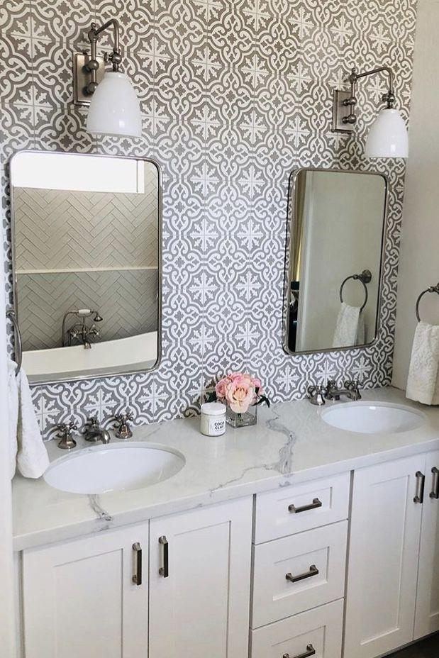 23+ White bathroom vanities with quartz tops type
