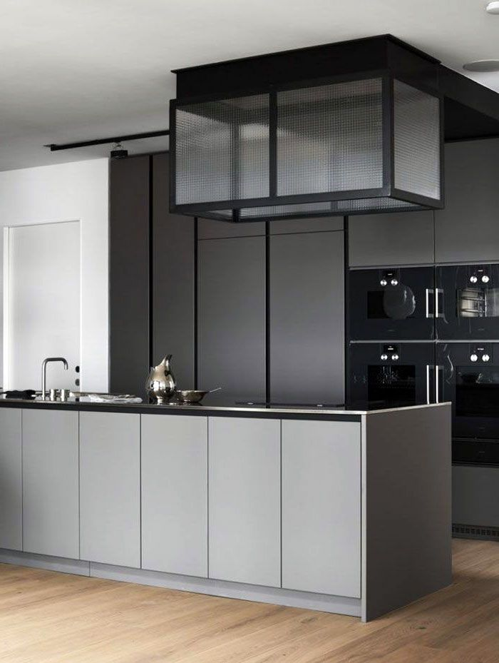26 Gorgeous Scandinavian Kitchen With Grey Color Ideas In 2020 Grey Kitchen Designs Kitchen Cabinet Design Scandinavian Kitchen