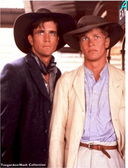 Mel Gibson and Mark Lee in Galipoli