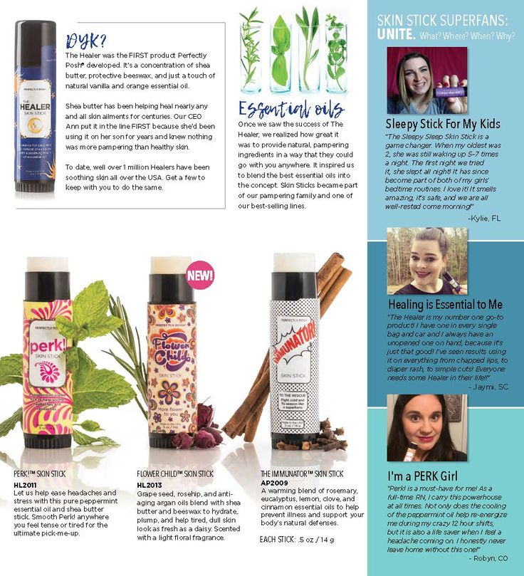 More sticks! Consultants rave about the use of the perk stick to prevent migraines! Put it on when you feel a headache starting for best results. Also, use the immunator for seasonal allergies or to prevent the flu in winter. Https://TaraGodoy.po.sh