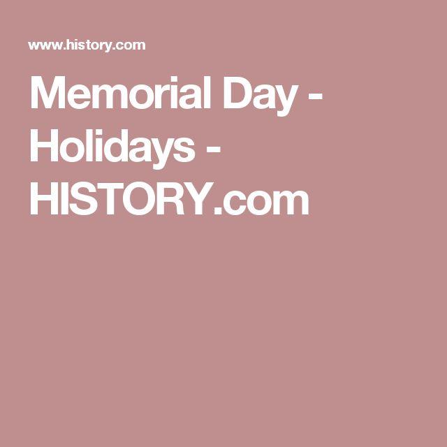 Memorial Day - Holidays - HISTORY.com