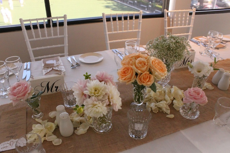 Jenna's gorgeous #vintage inspired #bridal table