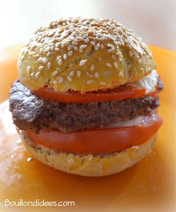 pain Hamburger maison sans gluten, sans GLO