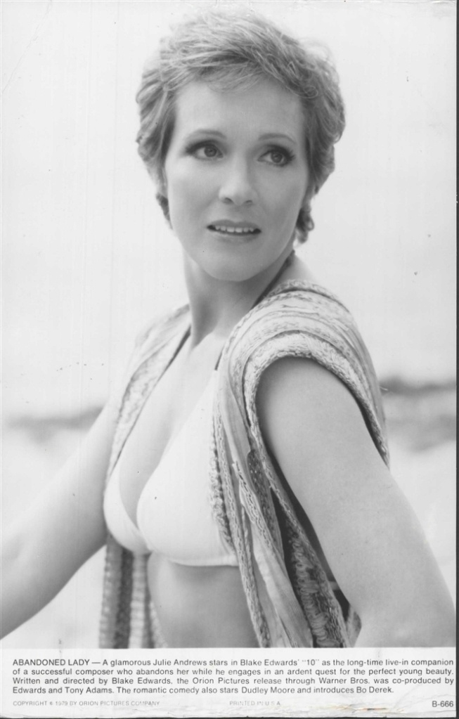 Julie Andrews  SOB (1979)  Press Photo