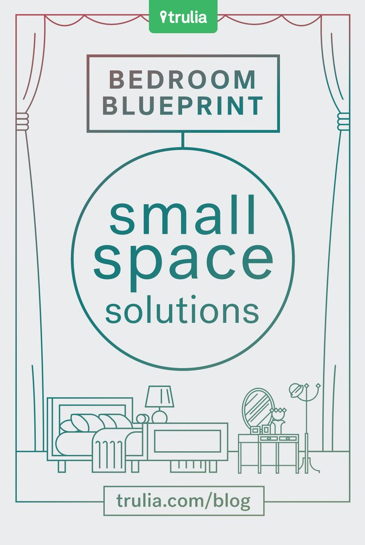 40 best apartment tips images on pinterest real estate for Smart solutions for small bedrooms