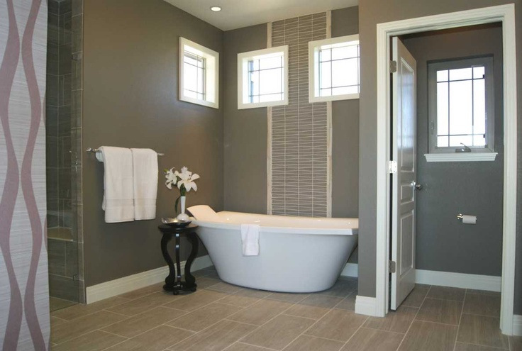 Beautiful tub and decoration in a custom home by G.J. Gardner Homes