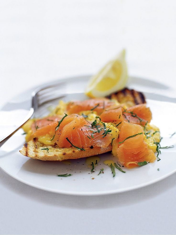 Tony MacNeils Salmon, Tim Powells Eggs and Peter Cooks Ledbury Loaf are perfect for this recipe