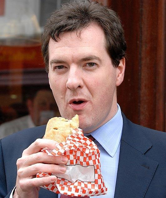George Osborne mid pasty-gate