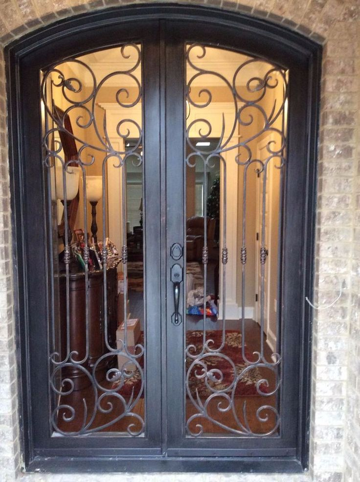 """IRON DOOR wrought iron doors 62"""" x 81"""" , Available Any Different Sizes"""