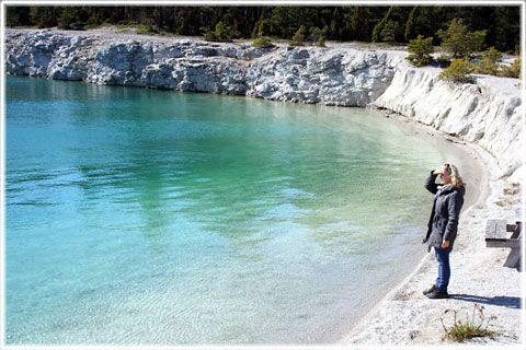 Blå lagunen i Fleringe