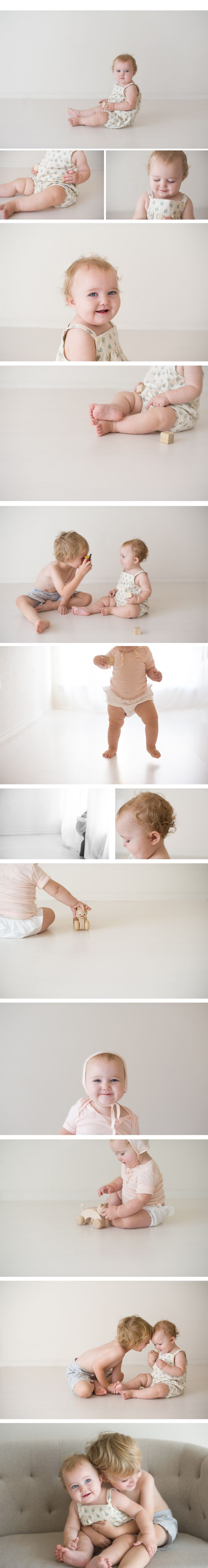 One year old session Natural light studio Copyright Lane Proffitt Photography Dallas - Fort Worth