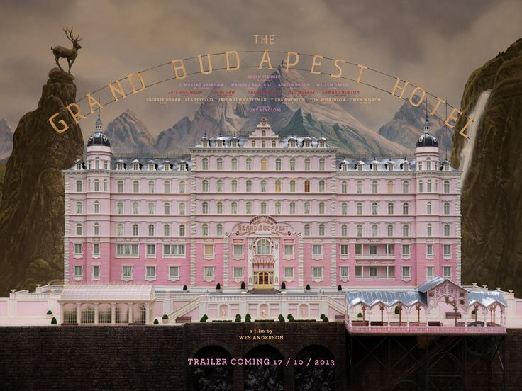Can't. Wait.   The Grand Budapest Hotel - A Film by Wes Anderson - Trailer Coming 17 October 2013