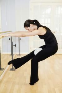 No-Weights Workout- Xtend Barre (with mini pilates ball)\\ Self