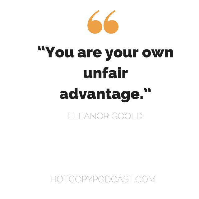 E50: Eleanor Goold: Personal branding: how much you should you bring to your brand?