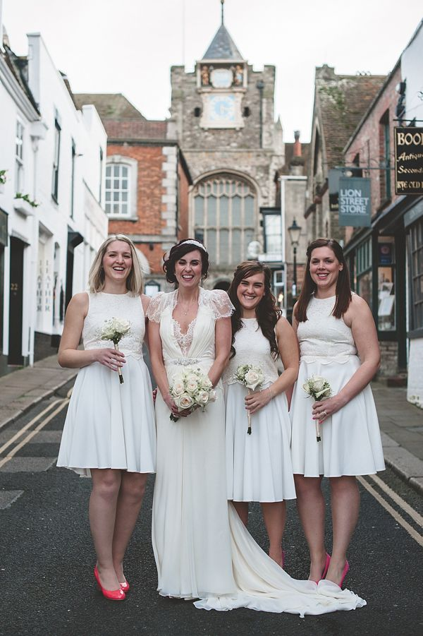 Aspen By Jenny Packham For A Vintage Inspired Wedding At The George