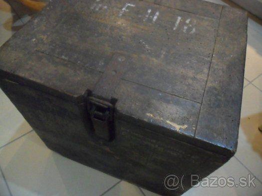 stara nemecka truhla kufor krabica truhlica bedňa - 1