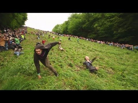 Gloucester Cheese Rolling 2012 OFFICIAL - Worlds Stupidest Competition
