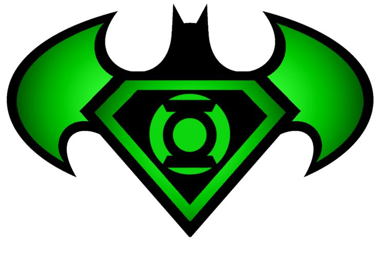 Batman Green Lantern Superman | Superman Batman Green Lantern logo by ~KalEl7 on deviantART